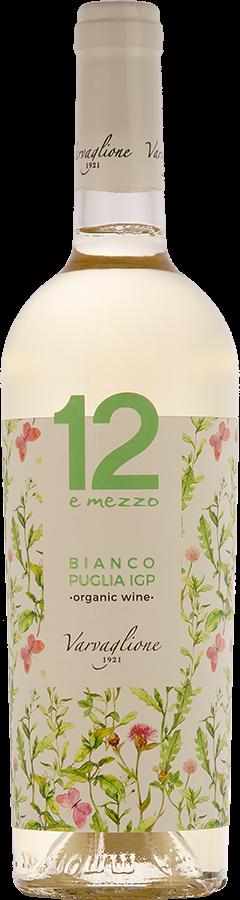 12 e mezzo Bianco, Puglia IGP Bio, 2016, organic wine, 0,75 l - vinařství Varvaglione