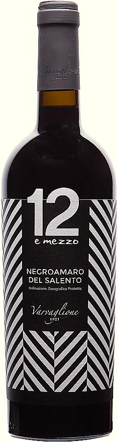 12 e mezzo Negroamaro del Salento, 2016, 0,75 l - vinařství Varvaglione