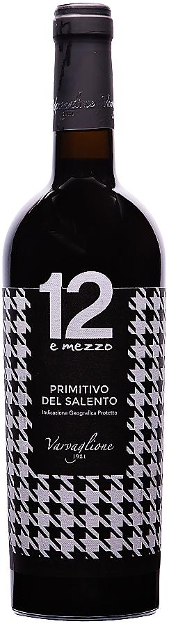12 e mezzo Primitivo del Salento, 2016, 0,75 l - vinařství Varvaglione