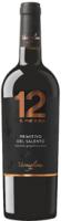12 e mezzo Primitivo del Salento, DOP 2017, 0,75 l - vinařství Varvaglione