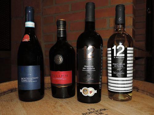 nová italská vína