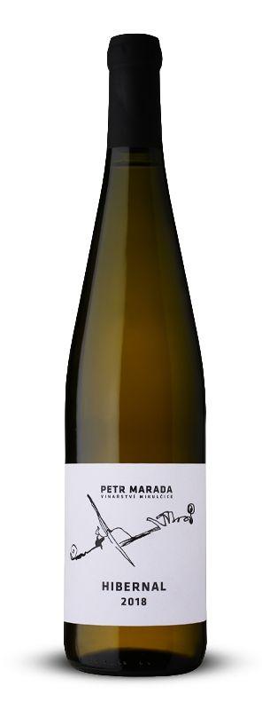 Hibernal 2018, pozdní sběr, suché, 0,75 l - vinařství Marada