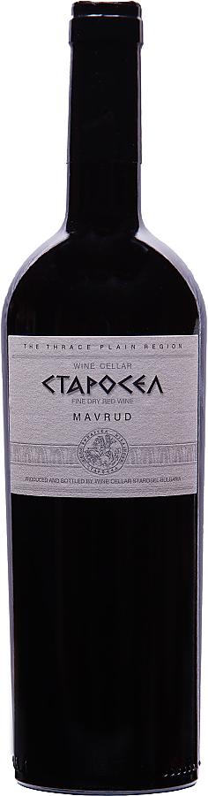 Mavrud Starosel 2017, suché víno, 0,75 l
