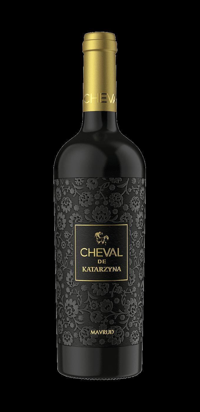 Mavrud Cheval 2019, Katarzyna, suché víno, 0,75 l