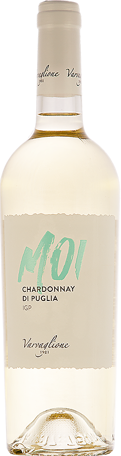 MOI - Chardonnay di Puglia IGP, 2018, 0,75 l - vinařství Varvaglione