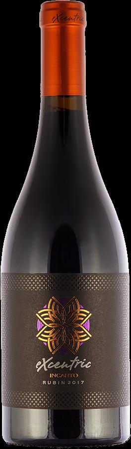 Rubin Excentric Incanto 2017 - Medi Valley, suché víno, 0,75 l