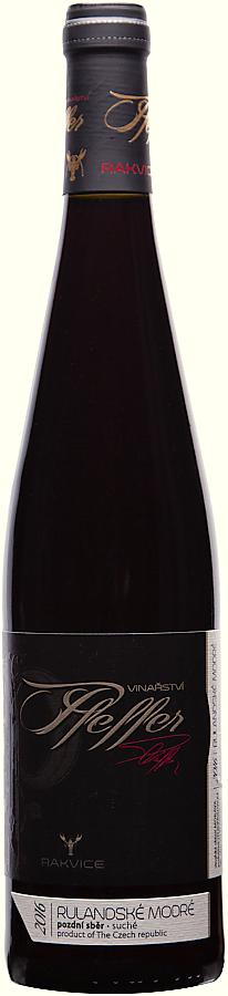 Rulandské modré 2016, pozdní sběr, suché, 0,75 l - vinařství Pfeffer