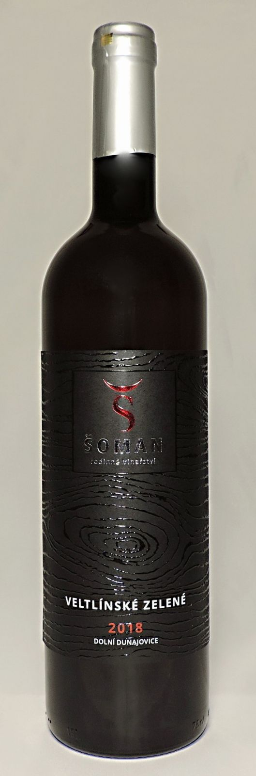 Veltlínské zelené TERROIR 2018, pozdní sběr, suché, 0,75 l - vinařství Šoman