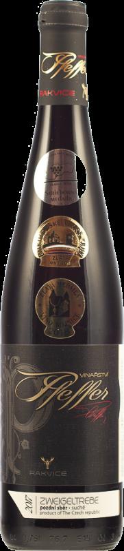 Zweigeltrebe 2017, pozdní sběr, suché, 0,75 l - vinařství Pfeffer